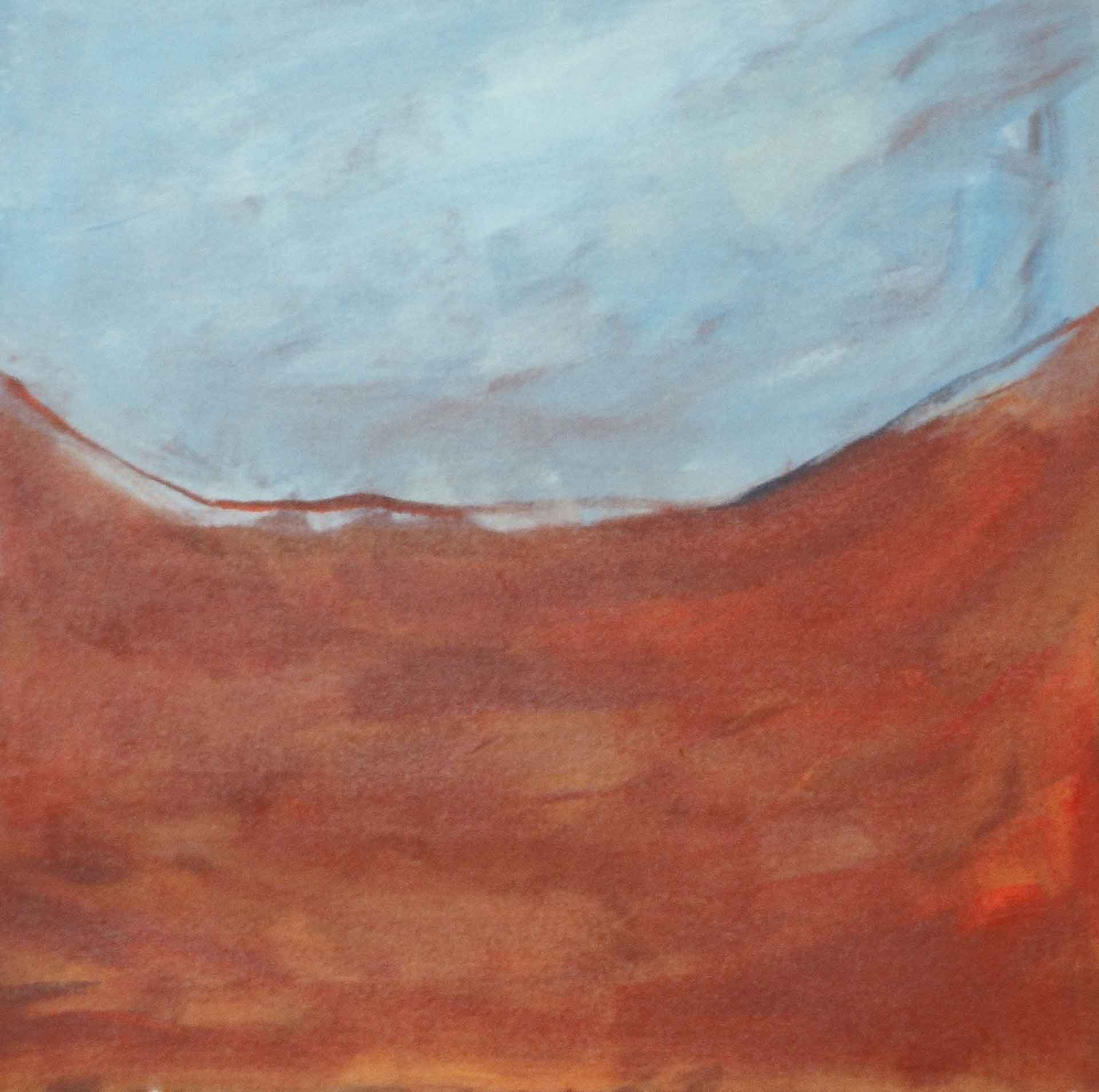 Clouds on Water, Trees on Sand s (diptych)